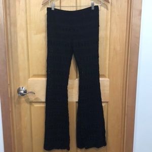 Forever 21 All Lace Bell Bottom Pants